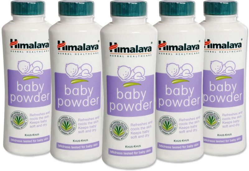 Himalaya Herbal Baby Powder 100gm(Pack Of 5)(5 x 100 g)