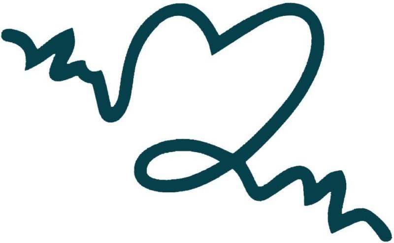 Smilendeal T2040 Heart Temp Body Tattoo - Green(Heart)