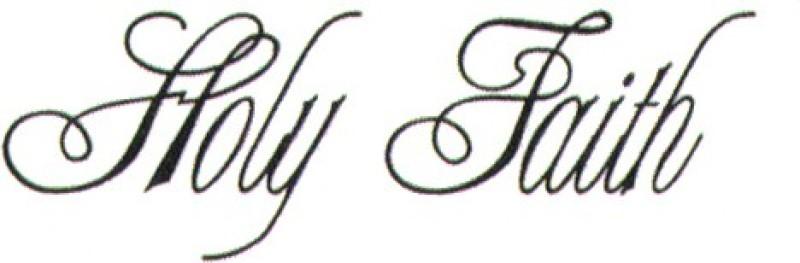 Smilendeal T1544 Removeable Temp Body Tattoo - Holly Faith Style(Holly Faith)