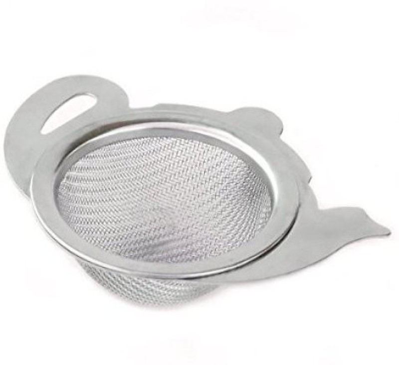 HealthAndYoga Stainless Steel Strainer with Utility Cup Tea Strainer(Pack of 1)