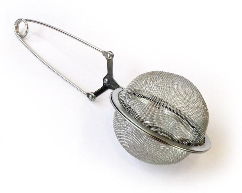Italish Steel Infuser Mesh Ball Tong Tea Strainer(Pack of 1)