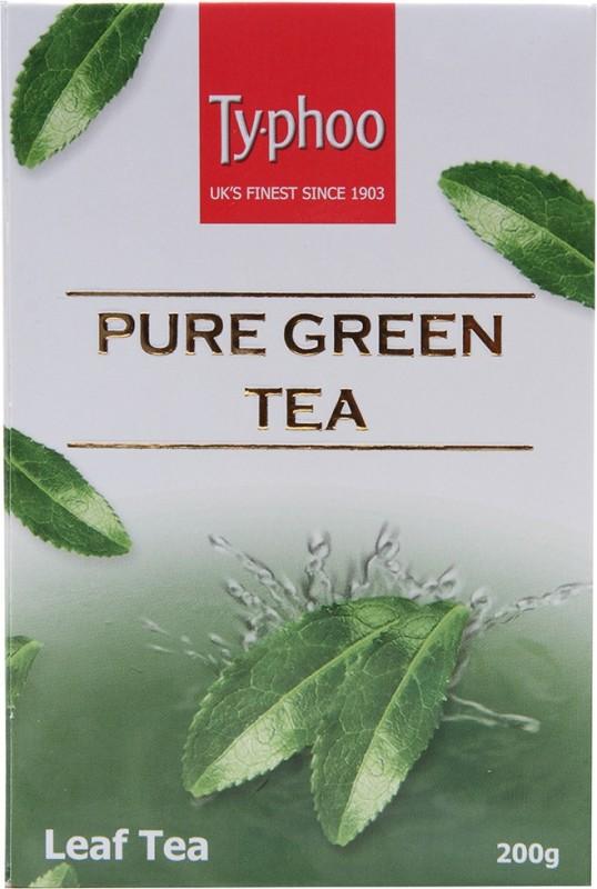 Typhoo Pure Green Tea(200 g, Bulk Pack)