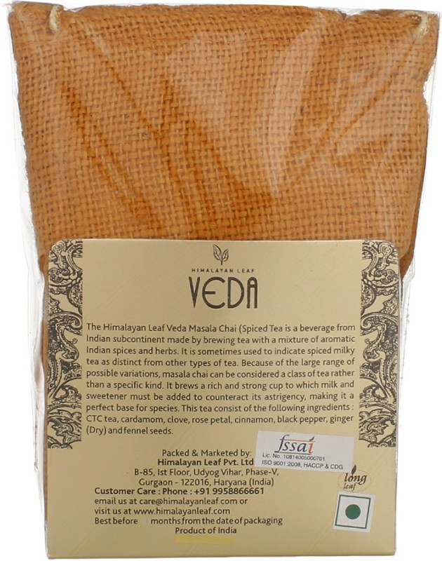 Veda Indian Masala Tea Pouch(100 g)