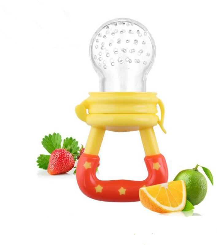 Baby's Clubb Fruit Nibbler Teether(Yellow, Orange)