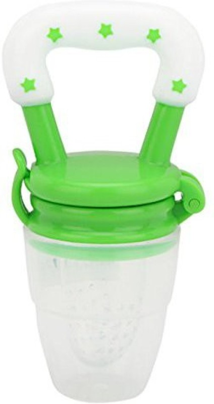 Maxbell Silicone Baby Food Fruit Vegetables Teething Feeder Pacifier Feeder(Green)