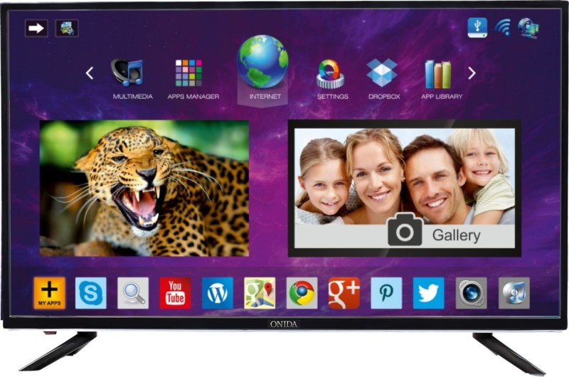 Onida 109cm (43 inch) Full HD LED Smart TV(LEO43FIAB2)