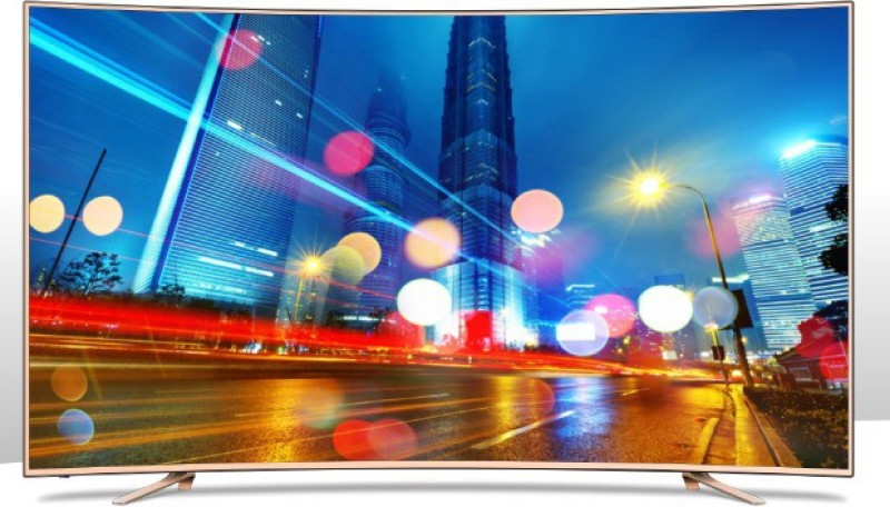 Sansui 139cm (55 inch) Ultra HD (4K) Curved LED Smart TV(SNC55CX0ZSA/UHDTVSNC55CX0ZSA)