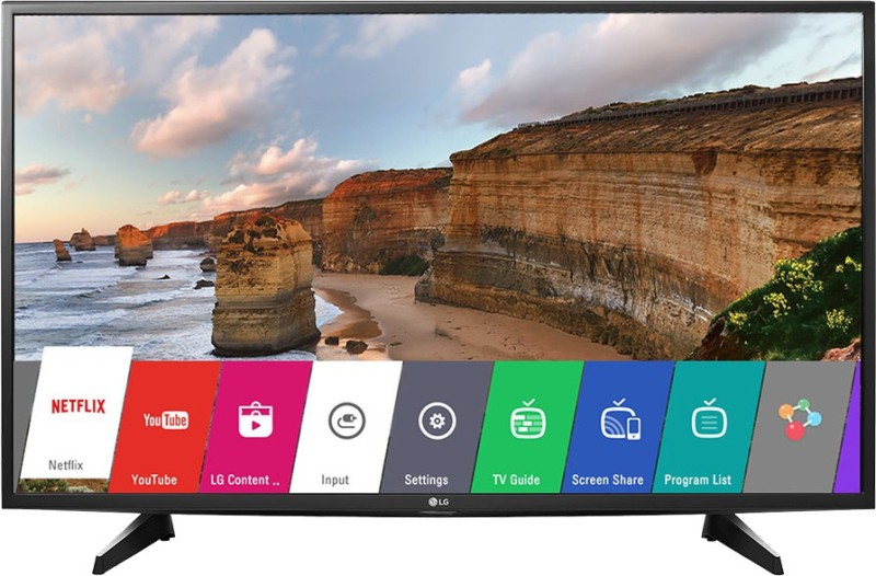 LG 43LH576T 108 cm (43 inches) Full HD Smart LED IPS TV (Black)