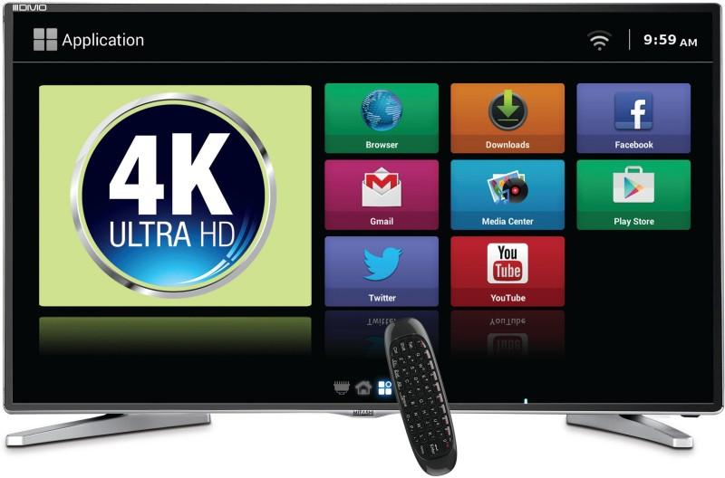Mitashi 138.68cm (55 inch) Ultra HD (4K) LED Smart TV(MiDE055v22 FS)