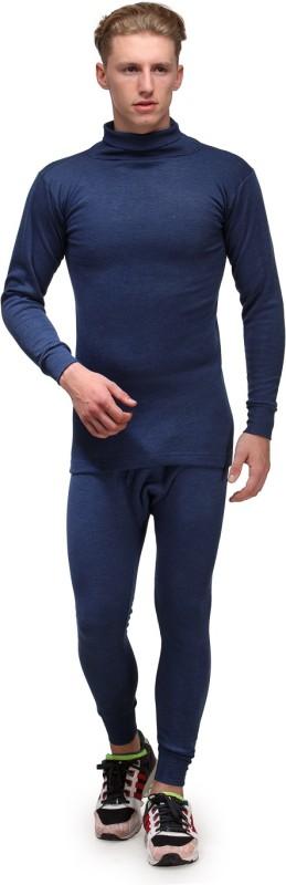 Alfa Lava High Neck Mens Top - Pyjama Set