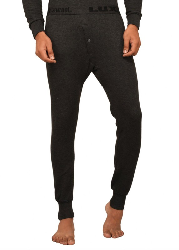 Lux Cottswool Black Thermal Mens Pyjama