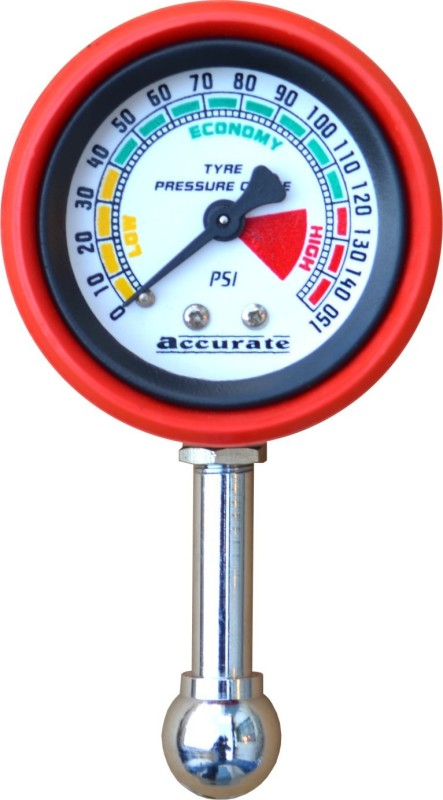 Accurate Analog Tire Pressure Gauge MTC 02(0 to 150 PSI)