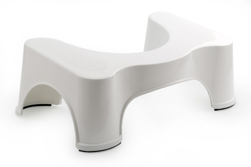 EAZILY COMMODE STOOL Attach to Toilet Safety Frames for Toilet(Plastic)