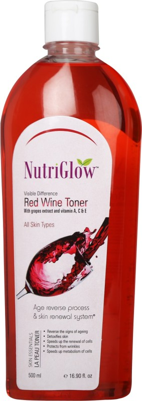 NutriGlow Red Wine Toner(500 ml)