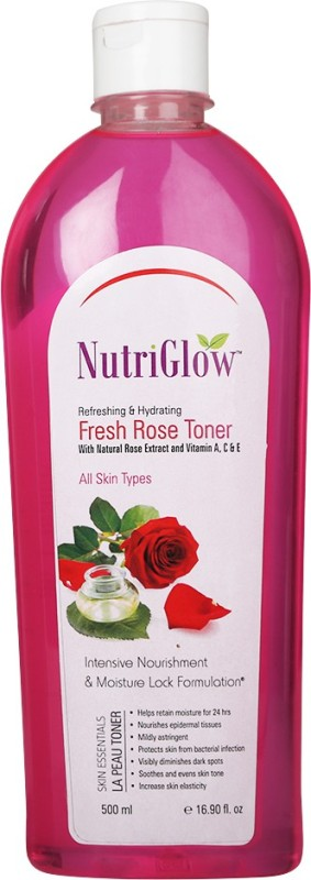 NutriGlow Fresh Rose Toner(500 ml)