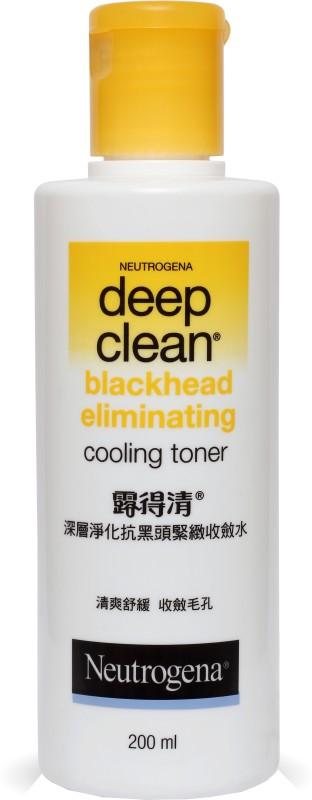 Neutrogena Deep Clean Blackhead Eliminating Cooling Toner(200 ml)