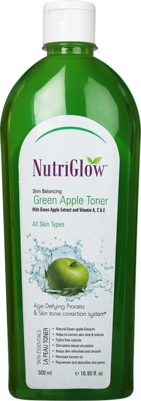 NutriGlow Green Apple Toner(500 ml)