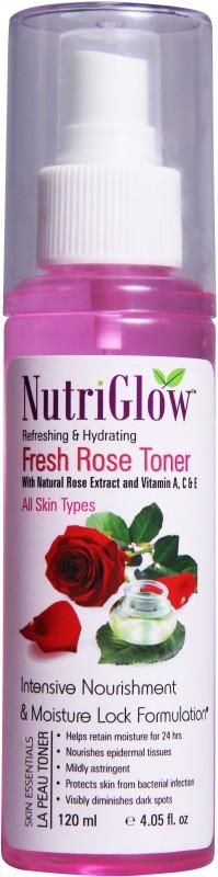 NutriGlow Fresh Rose Toner(120 ml)