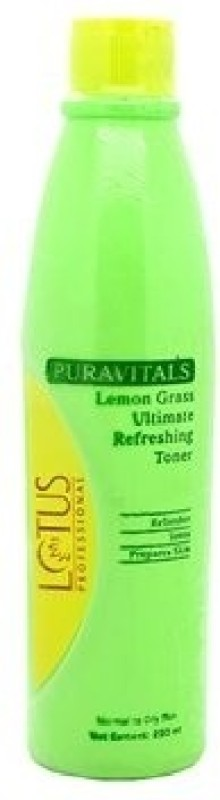 Lotus Professional Puravitals Lemon Grass Ultimate Refreshing Toner(250 ml)