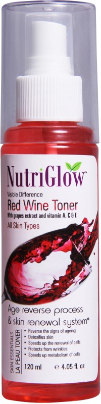 NutriGlow Red Wine Toner(120 ml)
