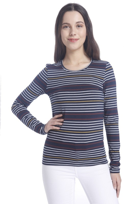 Vero Moda Casual Full Sleeve Striped Women Multicolor Top