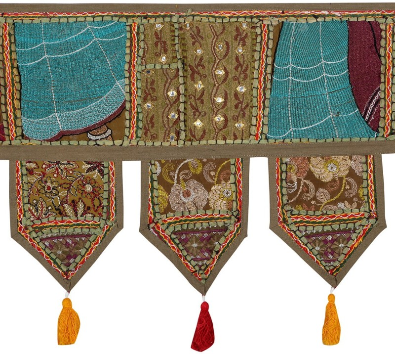 Rajrang Patch Work Toran/Door Hanging Toran(Cotton)