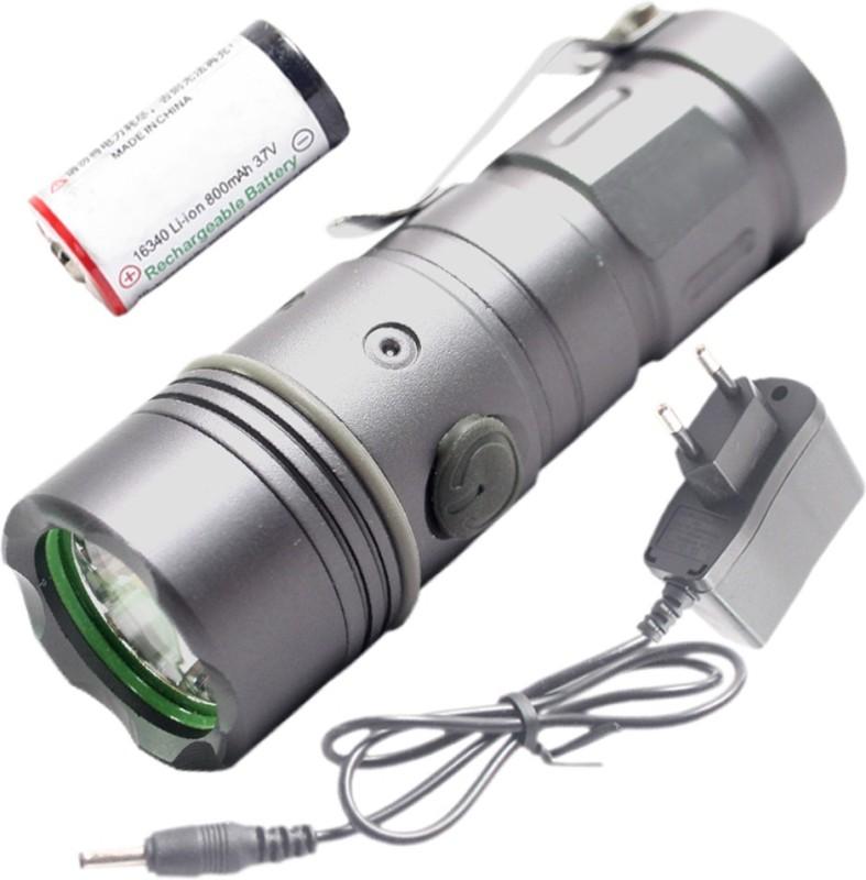 JM TC48214 Torch(Silver : Rechargeable)