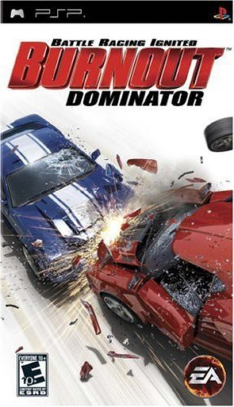 Electronic Arts Games Toy Accessory(Burnout, Dominator, Sony, PSP Multicolor)