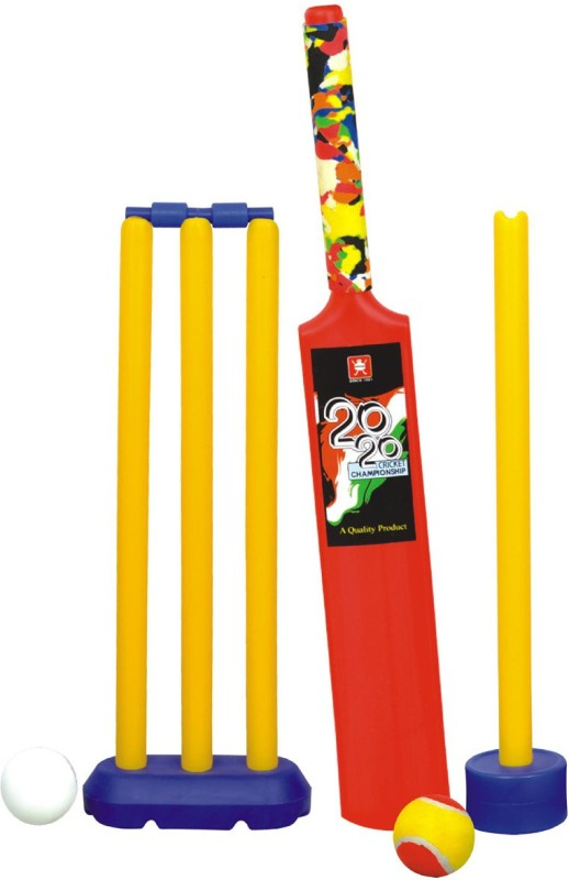 Nippon Senior Set - Plastic Cricket Kit(Bat Size: 3 (For 8 Years Kids))