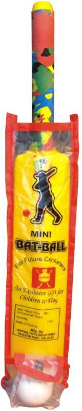 Nippon Mini Bat Ball (Pouch) Cricket Kit