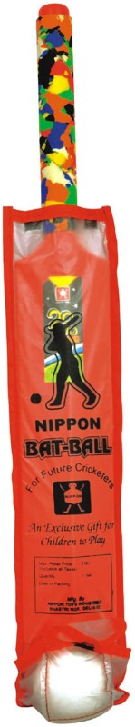 Nippon Senior Bat Ball (Pouch) Cricket Kit