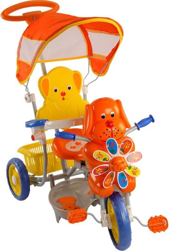 Meemee Dog Tricycle(Orange, Yellow)