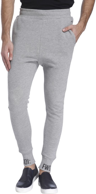 Jack & Jones Printed Mens Grey Track Pants