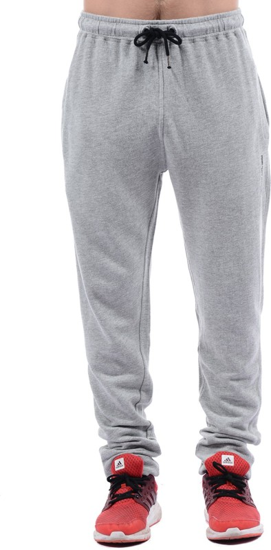 Pepe Jeans Solid Mens Grey Track Pants