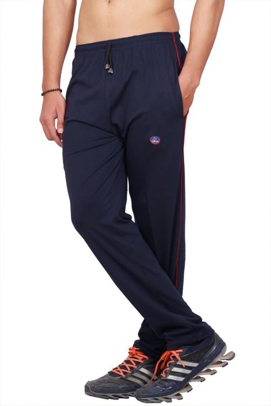 Vimal Ultra Solid Men's Dark Blue Track Pants