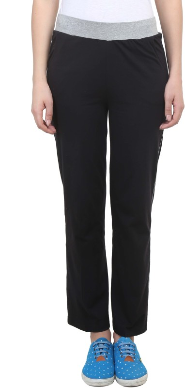 Vimal Solid Women's Black Track Pants