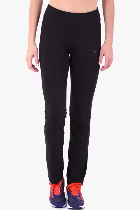Puma WTEss.StraightLegPant Solid Women's Black Track Pants