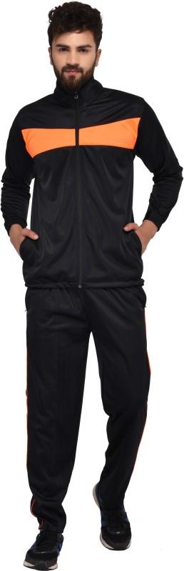 Gag Wear Solid Men & Women Track Suit