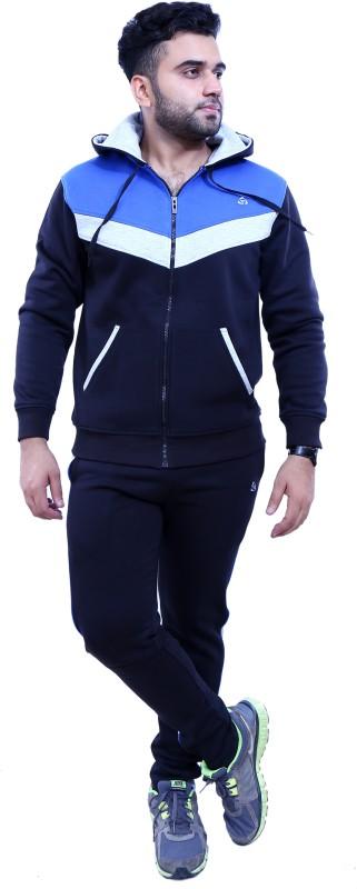 Griffel Solid Men's Track Suit