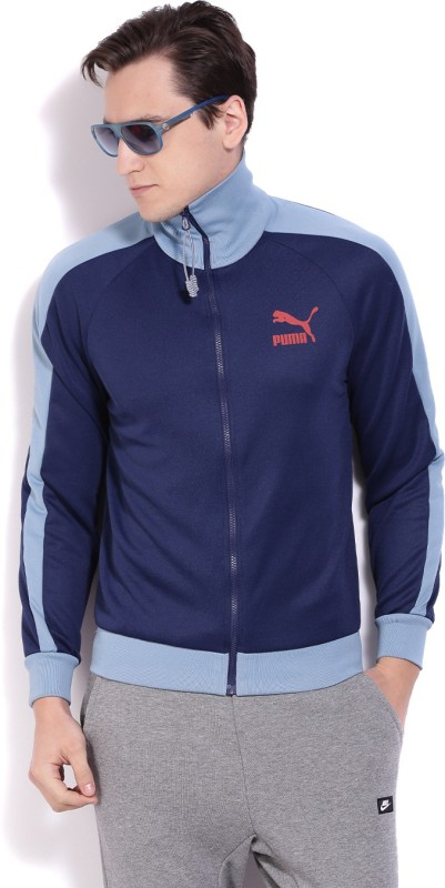 Puma Solid Mens Track Top