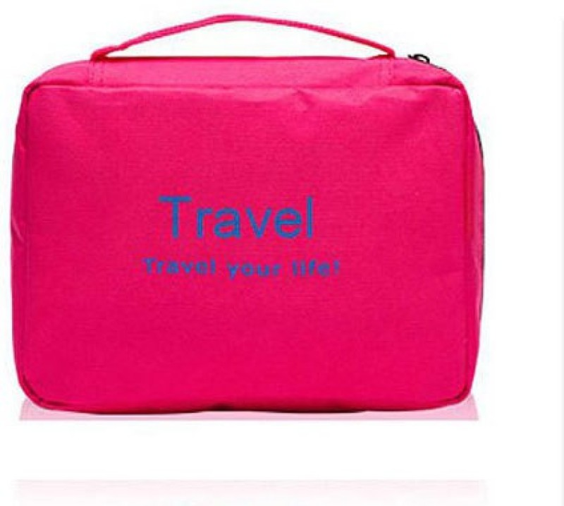 Magnas Waterproof Bag Travel Toiletry Kit(Pink)