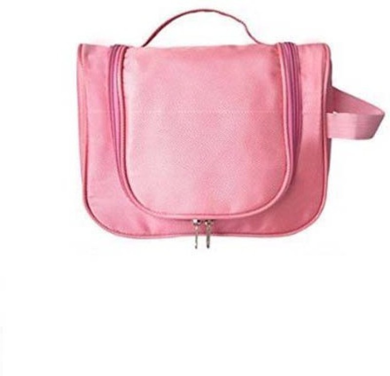 Everyday Desire Cosmetic Make Up Hanging Bag Organizer - Light Pink Travel Toiletry Kit(Pink)