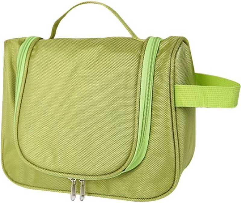 Swadec Cosmetic Hanging Bag Organizer TrToiletry Kit (Green) Travel Toiletry Kit(Green)