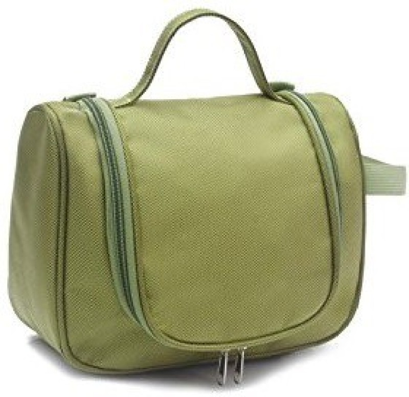 Everyday Desire Cosmetic Make Up Toiletries Travel Hanging Bag - Green Travel Toiletry Kit(Green)