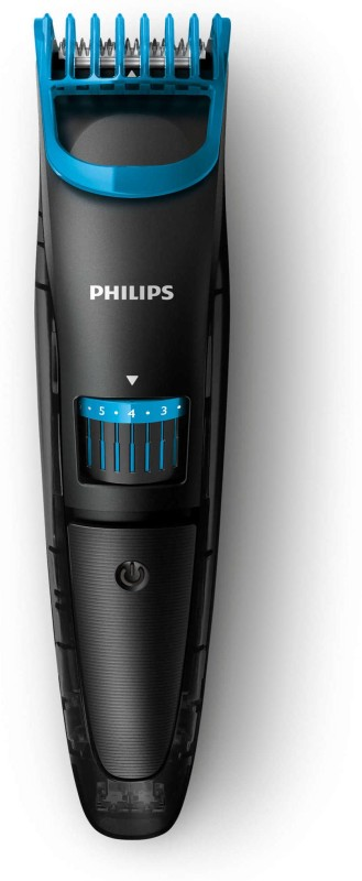 Philips QT4003/15 Cordless Trimmer for Men - 35 minutes run time(Black)