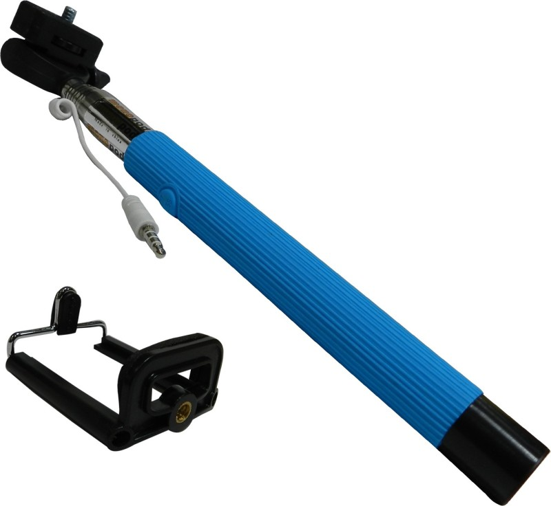 Amaze Mobile New Universal Selfie Stick Handheld Selfie Stick(Blue, Supports Up to 500 g)
