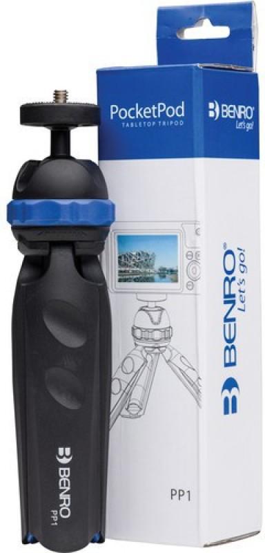 Benro PP1 PocketPod Tripod Kit(Black, Supports Up to 1500 g)