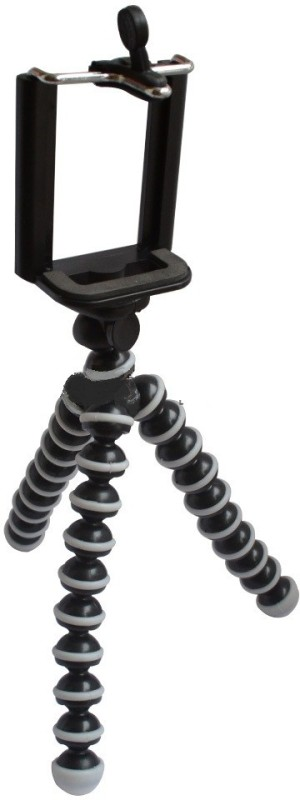 Mobilegear Gorillapod with Universal Mobile Holder(Black, Supports Up to 300 g)