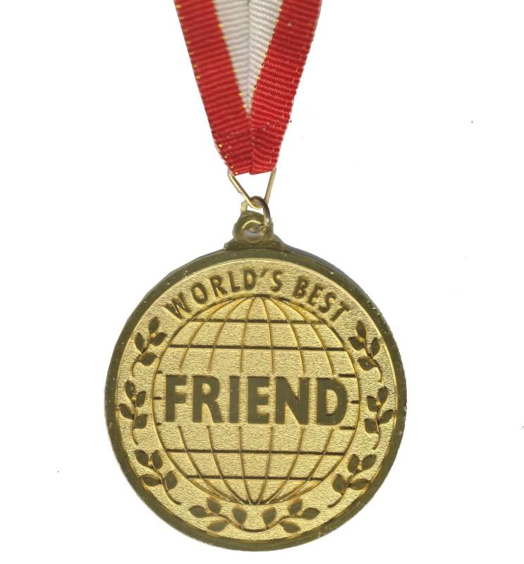 Atpata Funky World'S Best Friend Gold Medal Medal(M)