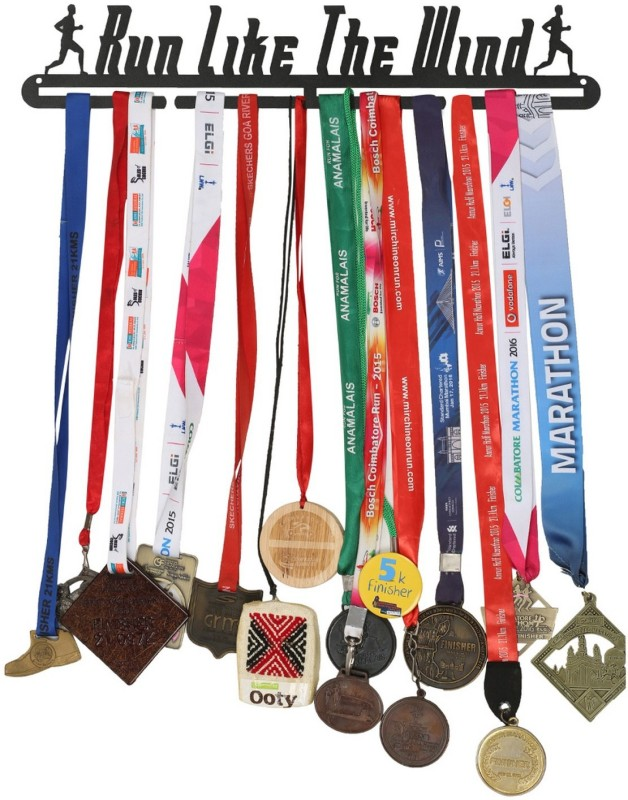 Runwynd Run Like The Wind Medal Hanger Trophy(L)
